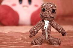 Sackboy (PaRaP) Tags: crochet amigurumi  littlebigplanet sackboy