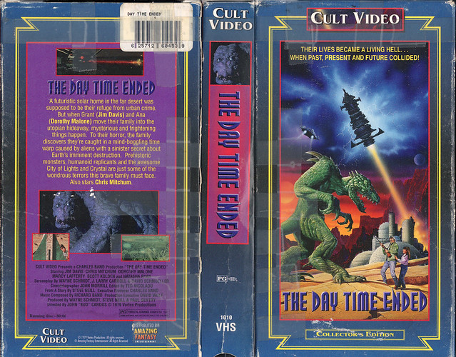 THE DAY TIME ENDED (VHS Box Art)