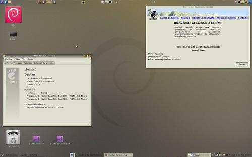 Debian Squeeze en Inspiron 1520