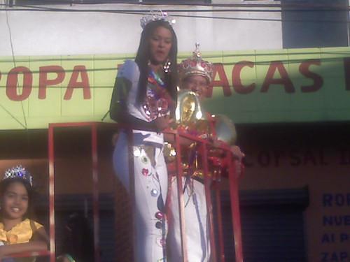La Reina y El Rey del Carnaval Vegano 2011-2