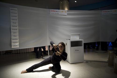 Ursula Endlicher - interACTicons © Jonathan Gröger / transmediale