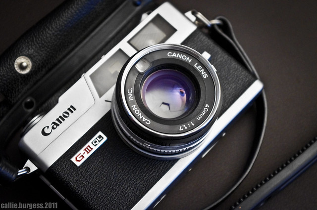 Vintage Canonet GIII QL17