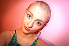 "Hair ""cut"" (Beckie0) Tags: brown loss hair rebecca head shaved depression pulling oconnor ocd sinead trich trichotillomania beckie0"