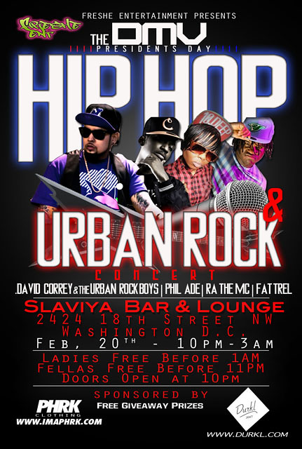 Hip Hop & Urban Rock Concert