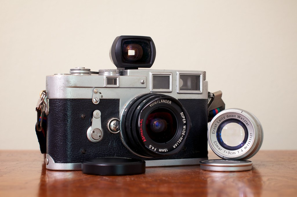 leica m3 with lenses