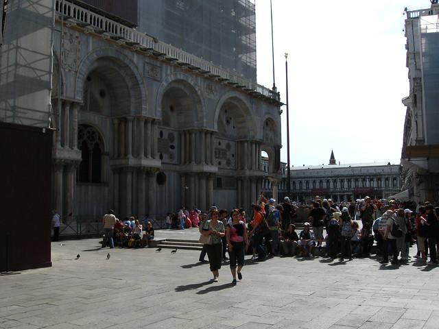 サン・マルコ広場のフリー写真素材