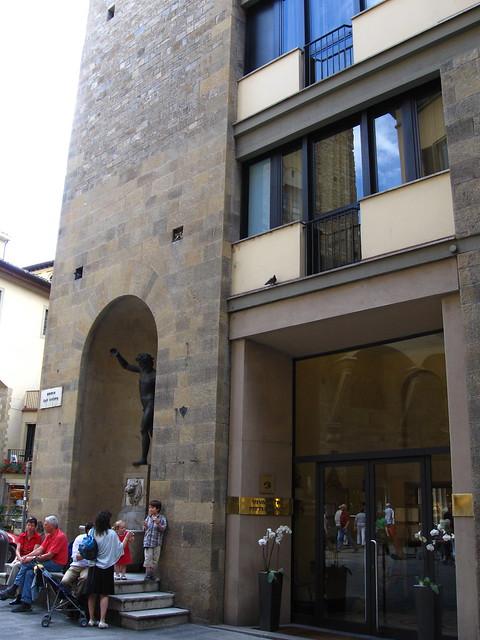 フィレンツェの建物のフリー写真素材