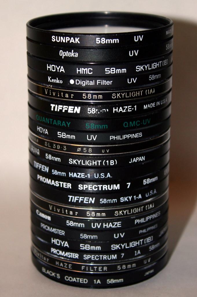 Just a few UV filters