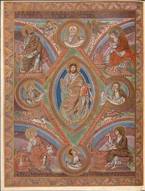 Evangeliar (Codex Aureus) - BSB Clm 14000 e