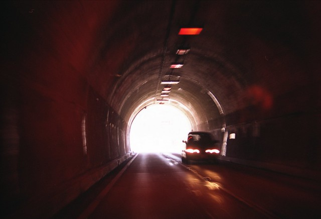 トンネルのフリー写真素材