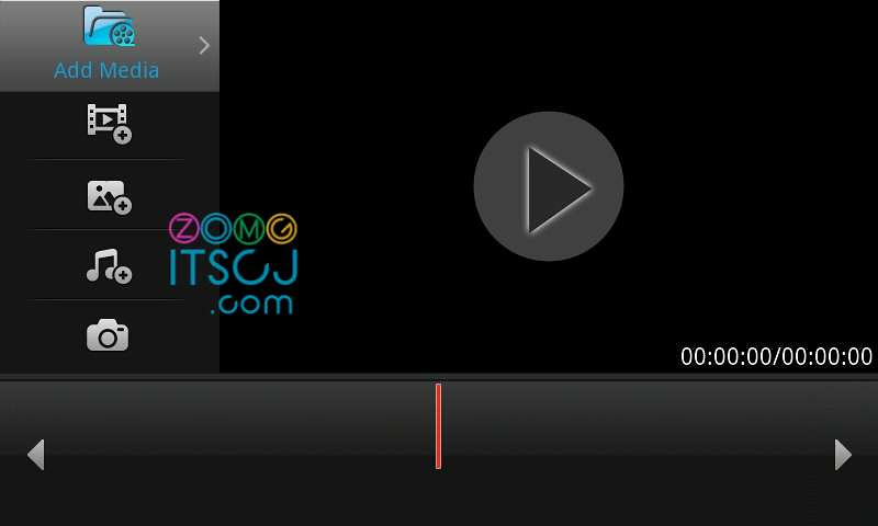 Samsung Video Editor: Add media