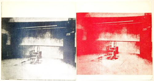 Andy Warhol, interior electric chair