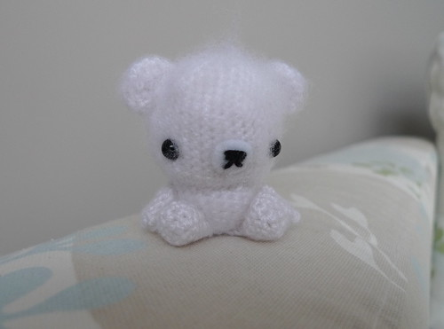 Fuzzy White Bear