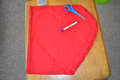 I (love) U Pillow - Step 8