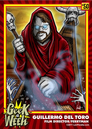 Geek A Week Challenge: #50: Guillermo Del Toro