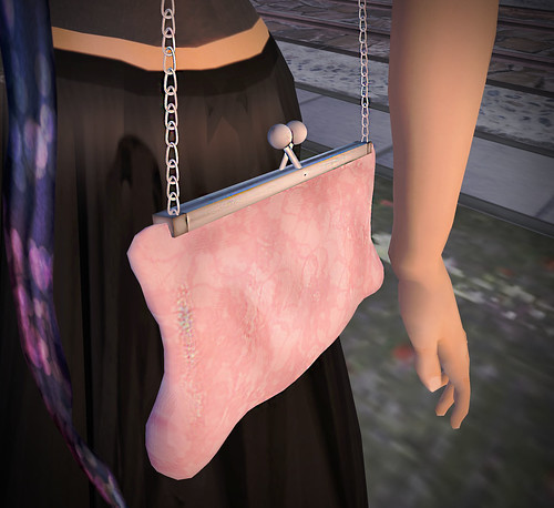 [croire] Valenitne's Day Set (lace) for 'I  Originals Fair' snap clutch (shoulder) (silver)