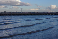 Wind and Wave (stanny71) Tags: sea beach water liverpool docks landscape wallasey pentaxkx rivermersey stanny71