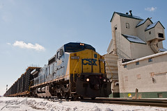 CSX 7396 in Carelton