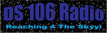Image of ds106 radio bumper sticker