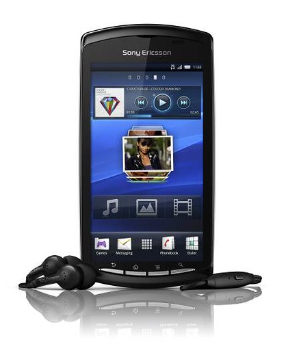 Xperia PLAY_Black_Front