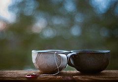 (nardell) Tags: windows two love home mugs time tea bokeh valentine cups valentinesday theconstant