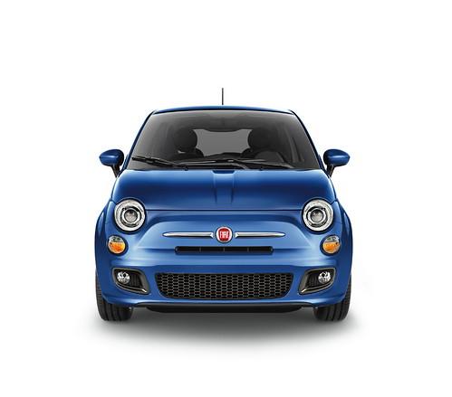 New 2012 Fiat 500 in Azzurro