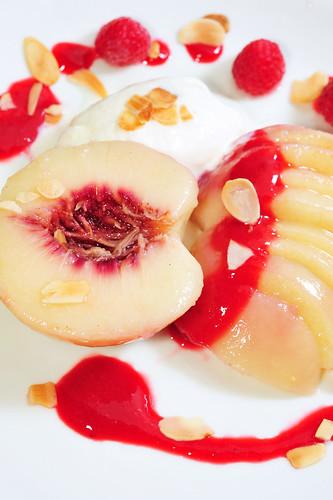 Peach Melba