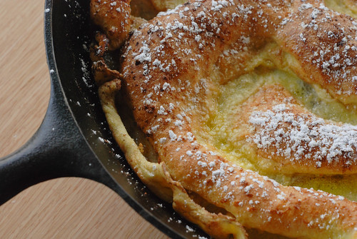 Dutch Baby Powered Sugar