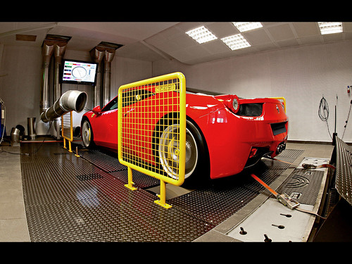 2011 Ferrari 458 Italia Wheelsandmore Performance package