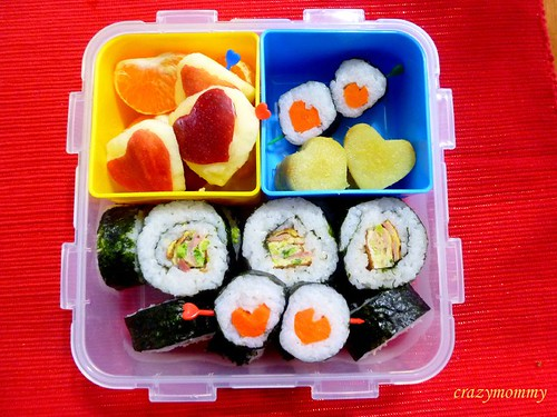 Valentine Bento - Loaded with Love