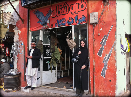Gunshop in Herat