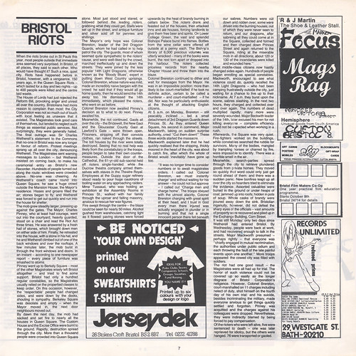 THE BRISTOL RECORDER - first edition / page 7