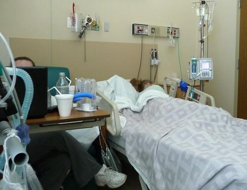 Hospital room life