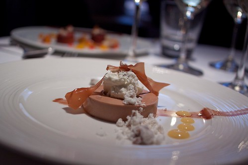 Dessert - Chocolate mousse and curd