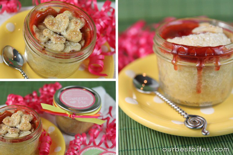 heart pie jar OBB