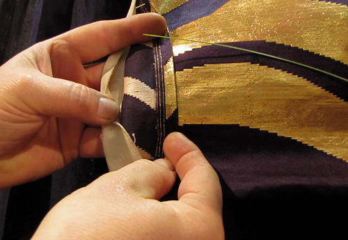 Gold thread booth