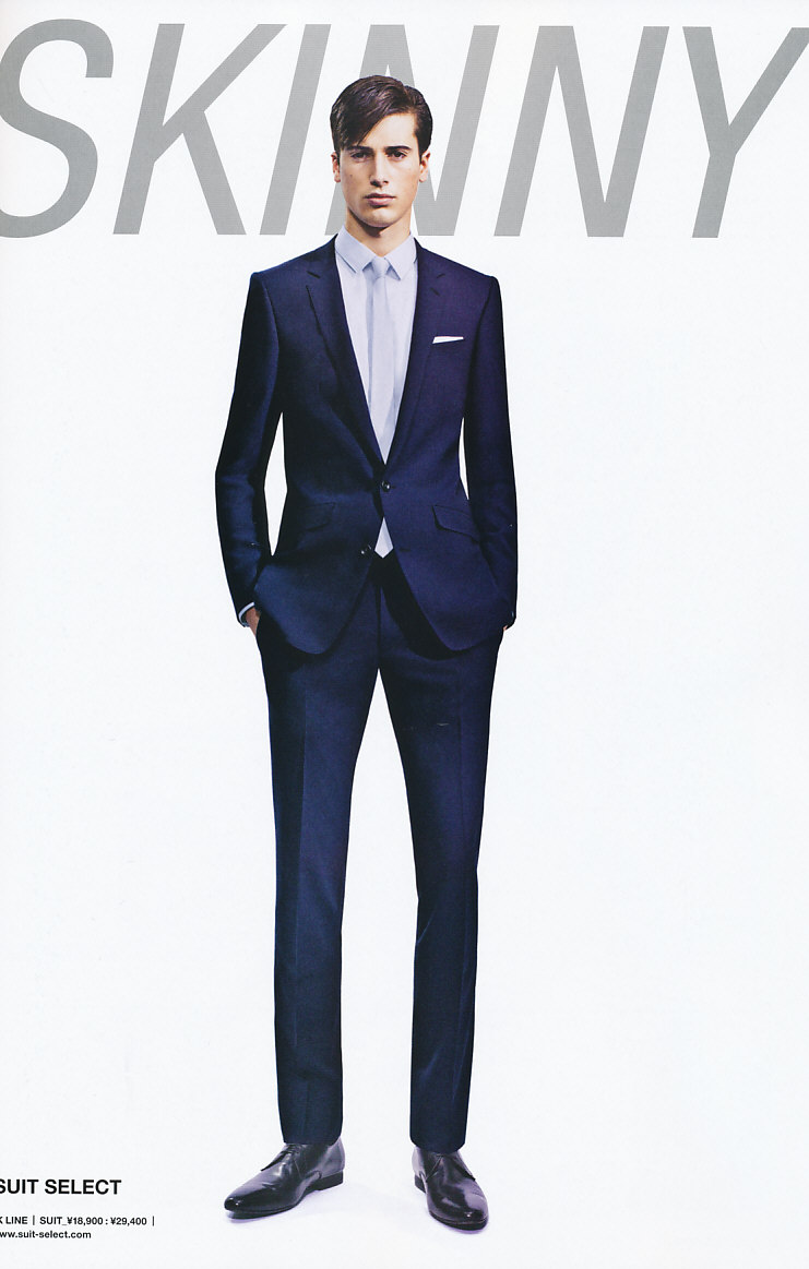 Julien Chanca5014_SUIT SELECT SS11(Men's JOKER Biz 2011 Vol.5)