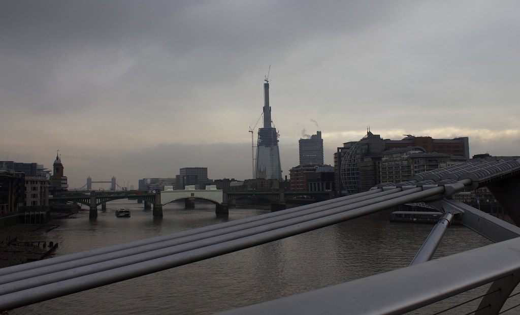On the Millenium bridge