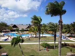 Hotel Atlantico, Guardalavaca, Cuba (Hear and Their) Tags: trees pool hotel cuba palm villa atlantico guardalavaca