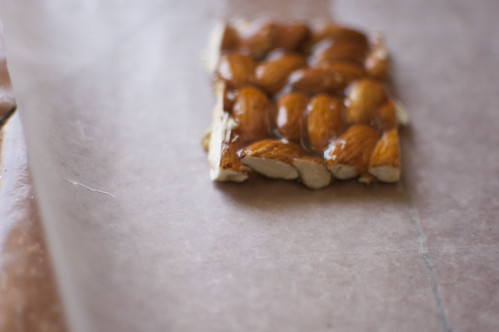almond snack bar