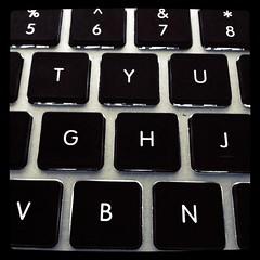 52/365 - MBP Keys