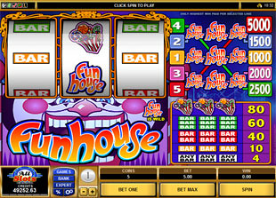 Funhouse slot game online review