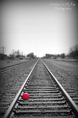 Rolling Down The Tracks In Edmond Oklahoma (Catcher In My Eye) Tags: railroad history tracks redball 852 theviewfromhere edmondok project52 mcpproject52