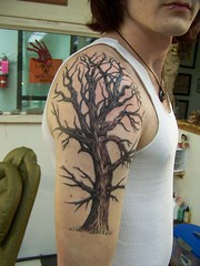 Tree Tattoo (cirilo69serrano) Tags: tree tattoo arm moseslake bradpayne coffincity
