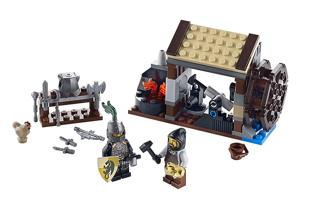 LEGO Kingdoms 6918 – Blacksmith Attack