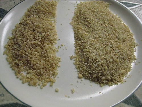 Bulgur - Regular and Fine