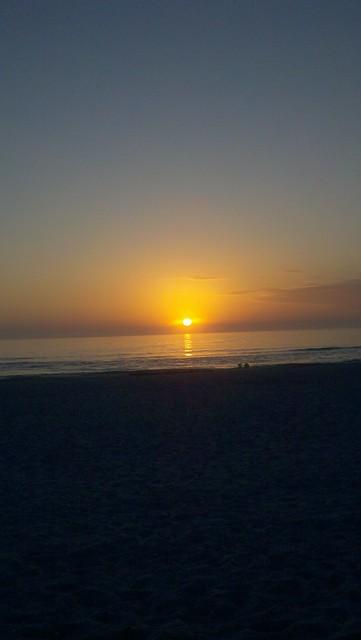 Sunrise in Daytona Beach Florida