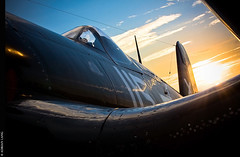 Corsair (~Clubber~) Tags: morning light toronto canada sunrise flight corsair warbird cytz vintagewings
