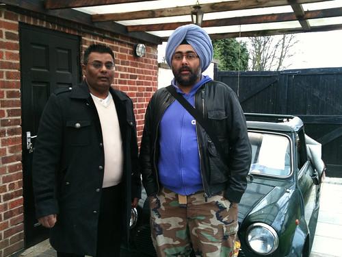 Hardeep Singh Kohli. and Hardeep Singh Kohli