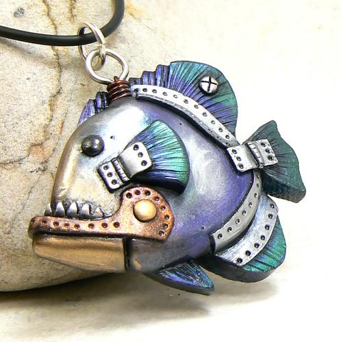 Steampunk piranha!